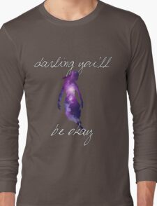 Darling You'll Be Okay - Galaxy // Pierce the Veil Long Sleeve T-Shirt