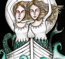 Twins of the sea by Jenny Wood