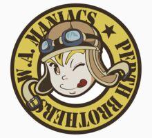 WA Maniacs Tee + Stickers Kids Clothes