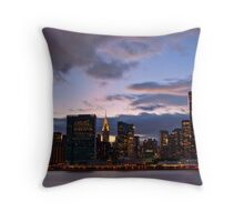 Putting Up the Stars in the Firmament Throw Pillow