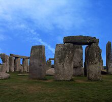 Stonehenge - Wiltshire, England by Bev Pascoe