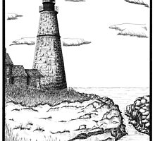 Simple Lighthouse by roughsketching
