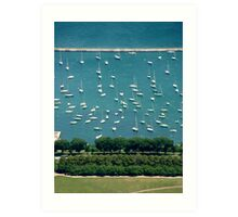 Chicago Marina Art Print