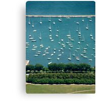 Chicago Marina Canvas Print