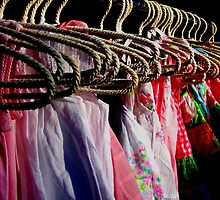 Colours & Coat Hangers (Orange Grove Markets) by Janie. D
