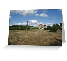 Lonley cottage Greeting Card