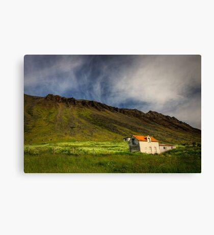 Isafjordur landscape Canvas Print