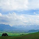 View from Appenzell Switzerland by Monica Engeler