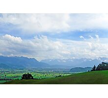 View from Appenzell Switzerland Photographic Print