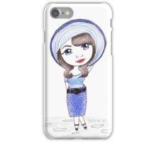 Vintage Gal ~ CiCi Marie iPhone Case/Skin