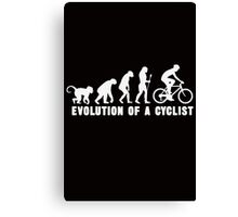 Evolution Of A Cyclist Canvas Print