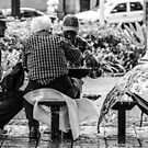 Chess and a Bottle of Wine by ColeCollection