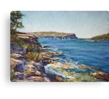 Balmoral looking towards North Head Canvas Print
