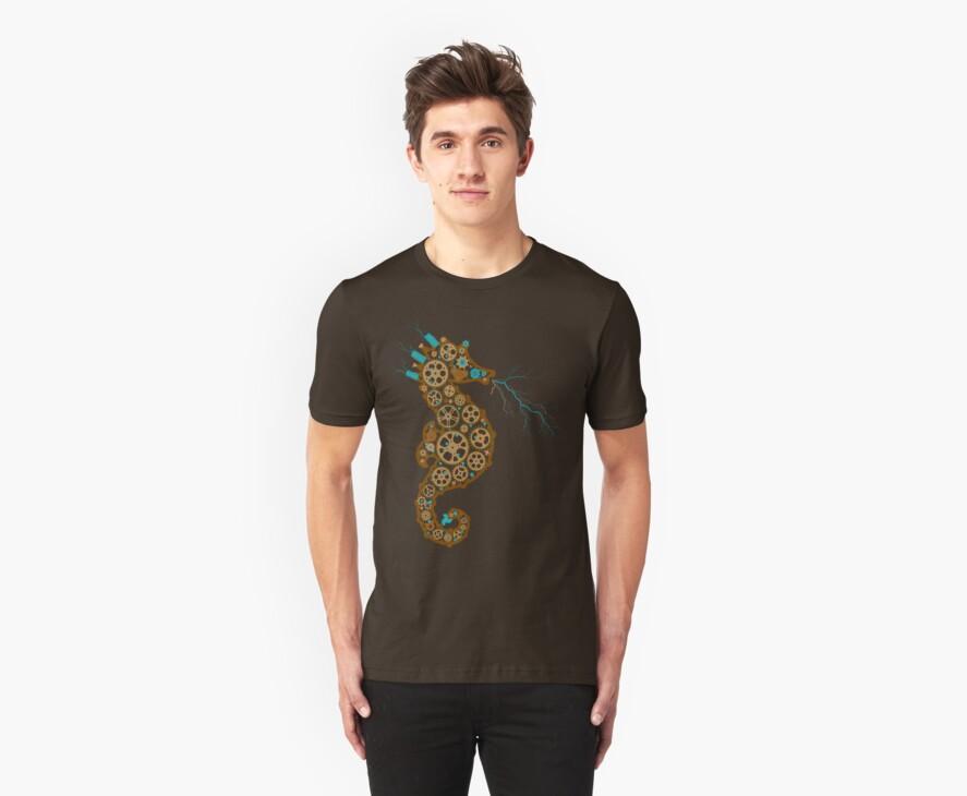 Steampunk Seahorse by ressamac