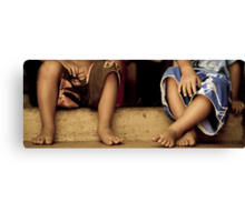 Toes Canvas Print