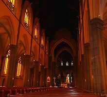 The Main Altar, St Patrick's Cathedral, Melbourne Vic Aust. by Margaret Morgan (Watkins)