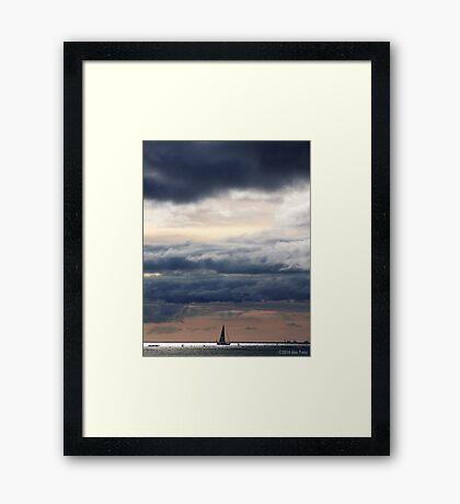 Sunset At Fort DeRussy Beach 2 Framed Print