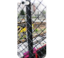 French Rail Crossing  iPhone Case/Skin