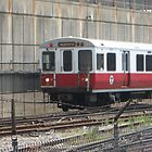 Red line Subway at Quincy Center On The Run by Eric Sanford