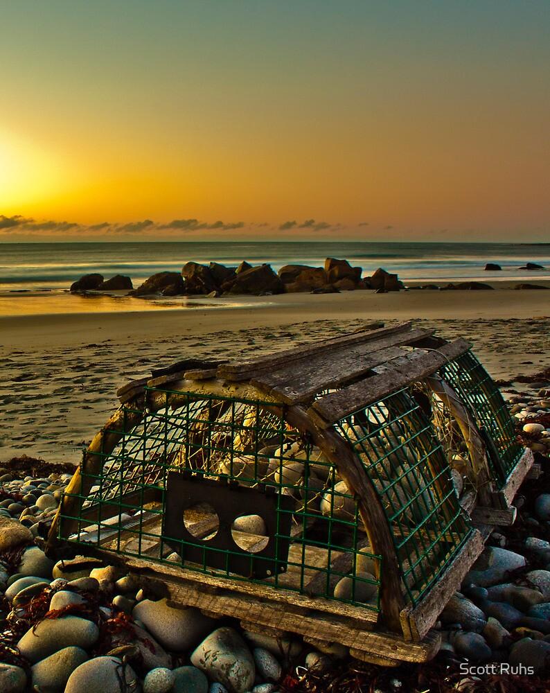 Beach Trap by Scott Ruhs