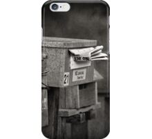 """ You Have Mail ...21 ""  iPhone Case/Skin"