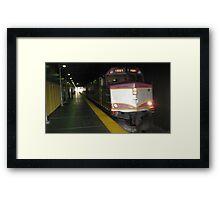 1061 MBTA Commuter Rail Framed Print