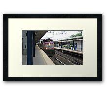 1118 MBTA Commuter Rail Framed Print