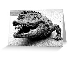 Gator Bait Greeting Card