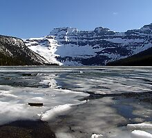 Springtime at Cameron Lake  by Jann Ashworth