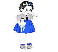 Baby Frankie Stein by DollieGlam