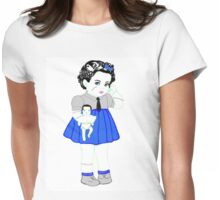 Baby Frankie Stein Womens Fitted T-Shirt