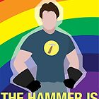 the hammer is... by Shabnam Salek