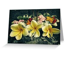 Offering Greeting Card