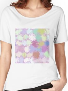 Painted Dots background Women's Relaxed Fit T-Shirt