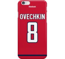 Washington Capitals Alex Ovechkin Jersey Back Phone Case iPhone Case/Skin