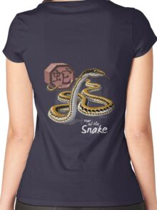Year of the Snake (for dark shirts) Women's Fitted Scoop T-Shirt