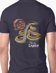 Year of the Snake (for dark shirts) Unisex T-Shirt