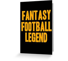 Fantasy Football Legend Greeting Card