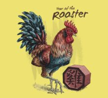 Year of the Rooster Kids Clothes