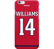 Washington Capitals Justin Williams Jersey Back Phone Case iPhone Case/Skin
