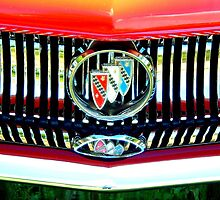 """Grinnin Buick"" by Deb  Badt-Covell"