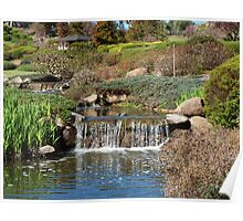 Japanese Garden at Cowra Poster