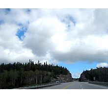 North West Ontario Hwy 17 - before Pays Plat Photographic Print