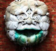 The Green Man (drooling Bob) by Mattie Bryant