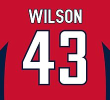 Washington Capitals Tom Wilson Jersey Back Phone Case by Russ Jericho