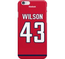 Washington Capitals Tom Wilson Jersey Back Phone Case iPhone Case/Skin
