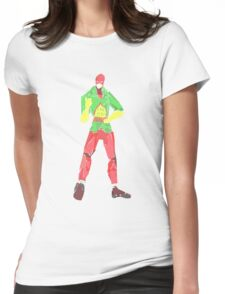 mr terrific  Womens Fitted T-Shirt