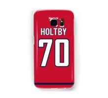 Washington Capitals Braden Holtby Jersey Back Phone Case Samsung Galaxy Case/Skin