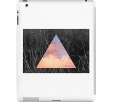 Pink Sky Triangle iPad Case/Skin