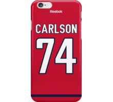 Washington Capitals John Carlson Jersey Back Phone Case iPhone Case/Skin